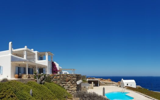 High privacy property in Mykonos