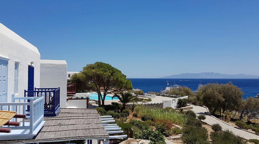 seaside property in Mykonos