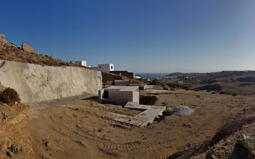 property under construction in Mykonos