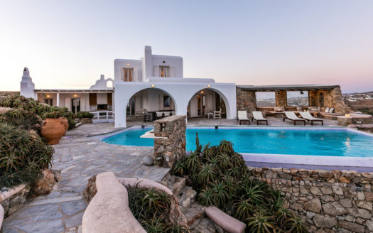 Uniquely located property in Mykonos