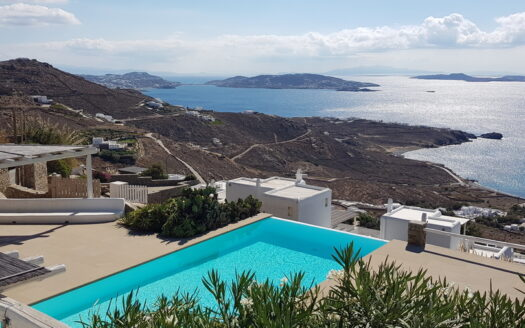 Infinity view villa for sale in Mykonos